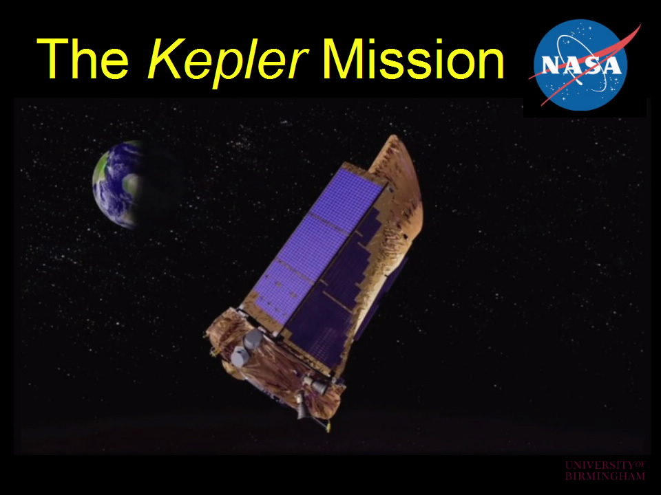 The Kepler Mission; large telescope in space